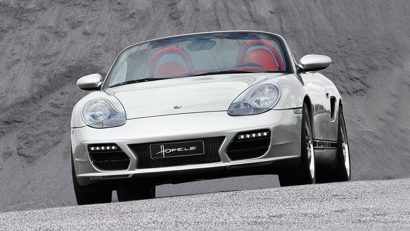 Hofele Speed GT: individualizace pro původní Porsche Boxster: - fotka 2