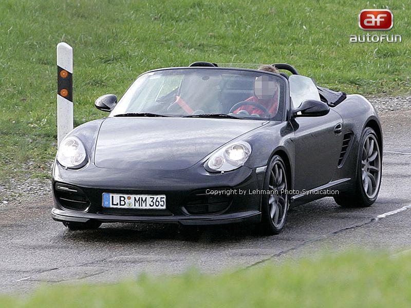 Spy Photos: Porsche Boxster Speedster: - fotka 1