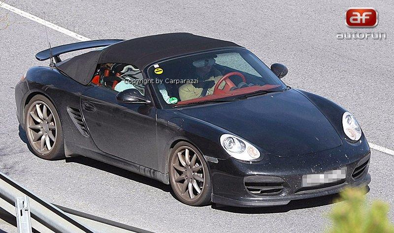 Spy Photos: Porsche Boxster Speedster: - fotka 2