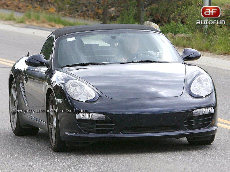 Spy Photos: Porsche Boxster Facelift: - fotka 2