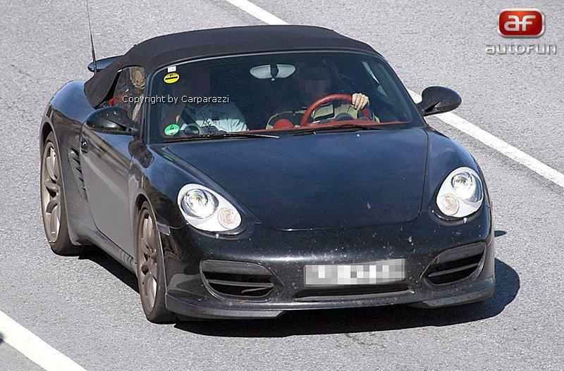 Spy Photos: Porsche Boxster Speedster: - fotka 3