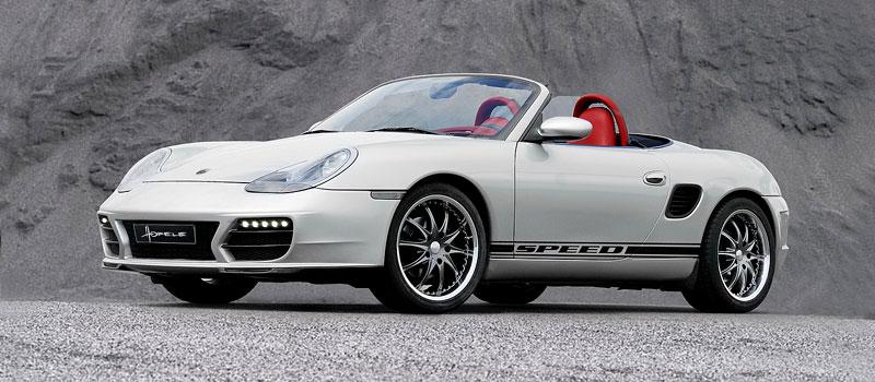 Hofele Speed GT: individualizace pro původní Porsche Boxster: - fotka 4