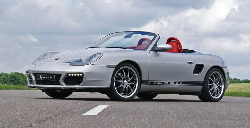 Hofele Speed GT: individualizace pro původní Porsche Boxster: - fotka 5