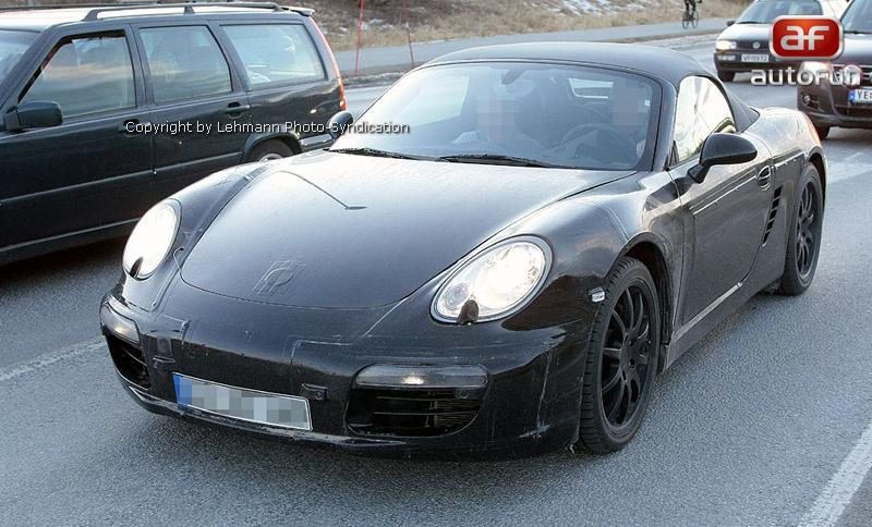 Spy Photos: Porsche Boxster: - fotka 5