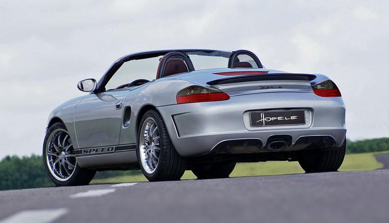Hofele Speed GT: individualizace pro původní Porsche Boxster: - fotka 6