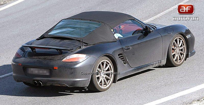 Spy Photos: Porsche Boxster Speedster: - fotka 9