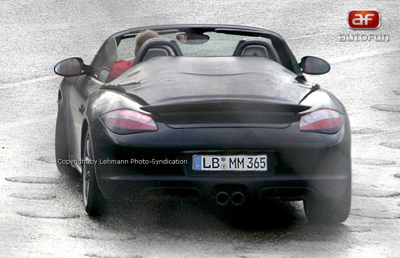 Spy Photos: Porsche Boxster Speedster: - fotka 5