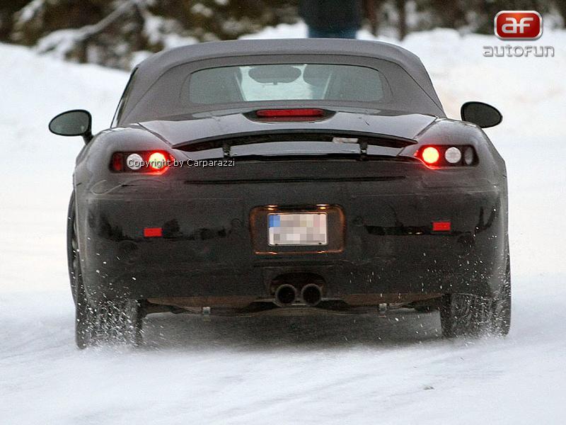 Spy Photos: Porsche Boxster: - fotka 11