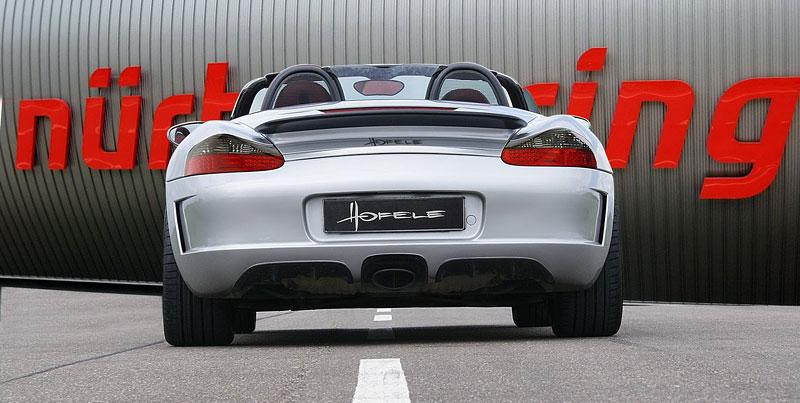 Hofele Speed GT: individualizace pro původní Porsche Boxster: - fotka 7