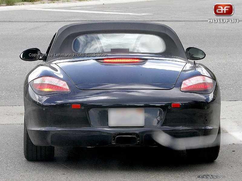 Spy Photos: Porsche Boxster Facelift: - fotka 4