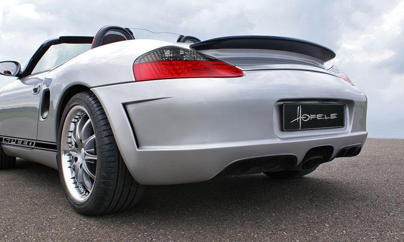 Hofele Speed GT: individualizace pro původní Porsche Boxster: - fotka 8