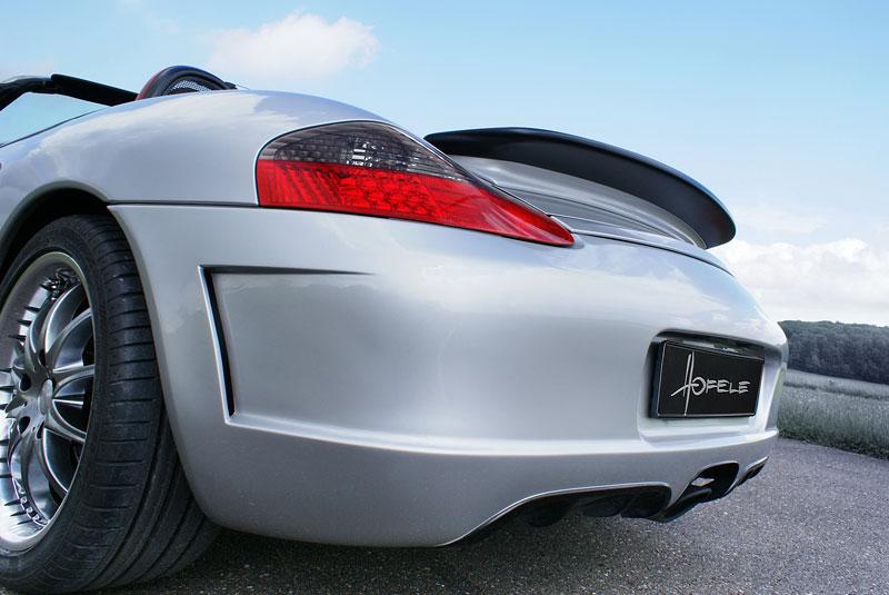 Hofele Speed GT: individualizace pro původní Porsche Boxster: - fotka 11