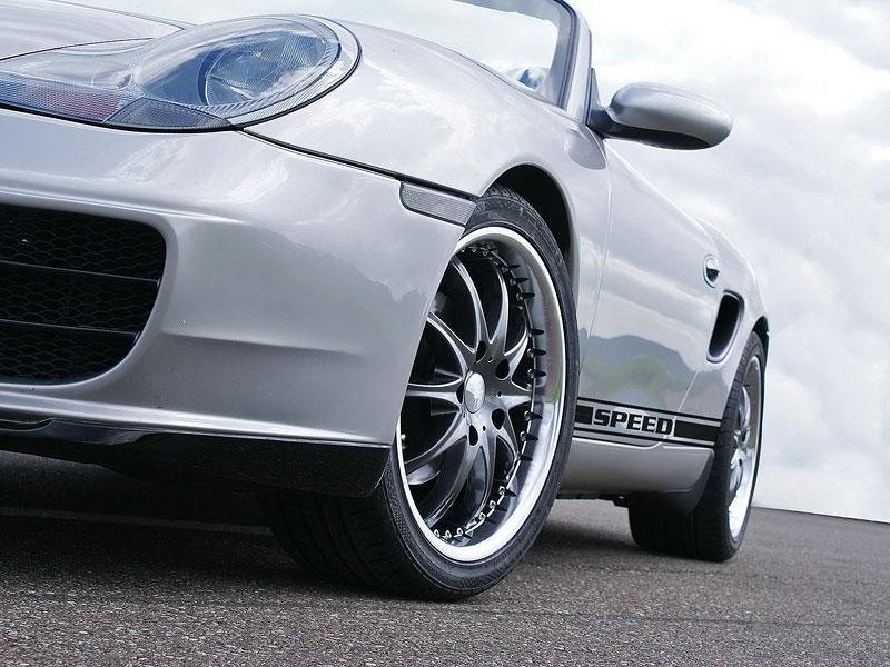 Hofele Speed GT: individualizace pro původní Porsche Boxster: - fotka 15