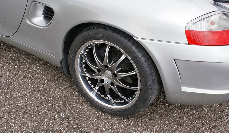Hofele Speed GT: individualizace pro původní Porsche Boxster: - fotka 17