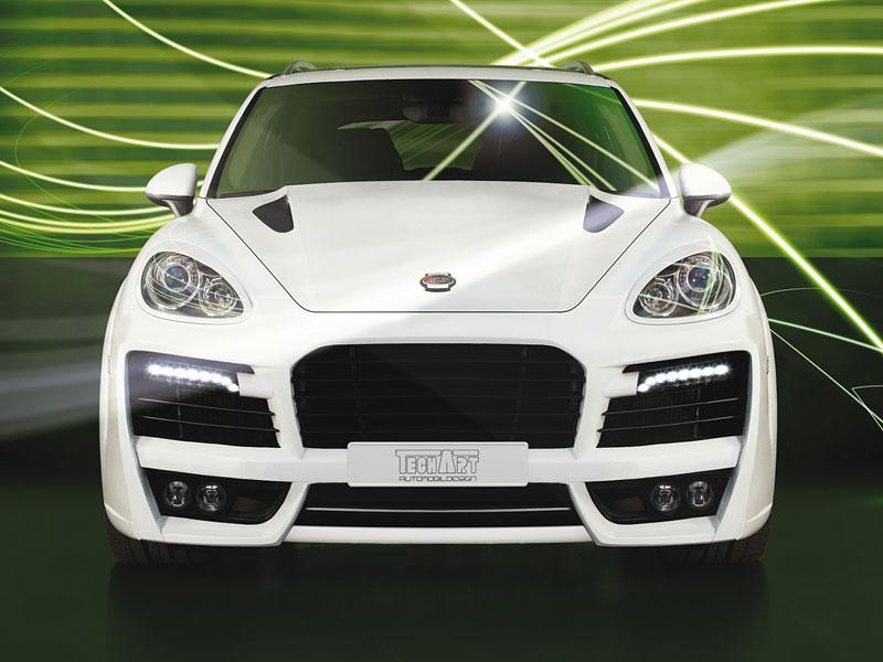 TechArt Magnum: první ochutnávka upraveného Porsche Cayenne: - fotka 1
