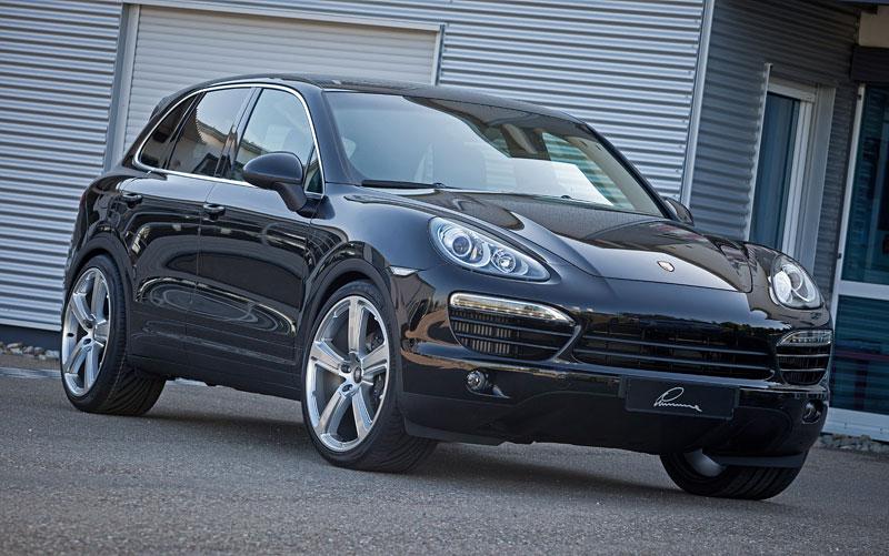 Porsche Cayenne Diesel: decentní SUV od Lumma Design: - fotka 3