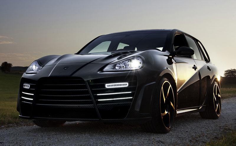 Mansory Chopster: karbonové hrátky s Porsche Cayenne: - fotka 4