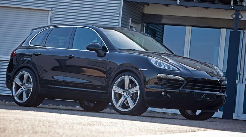 Porsche Cayenne Diesel: decentní SUV od Lumma Design: - fotka 4