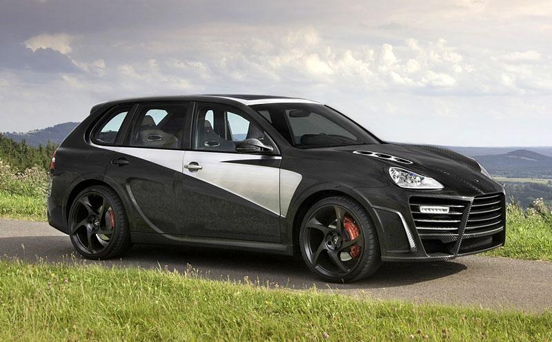 Mansory Chopster: karbonové hrátky s Porsche Cayenne: - fotka 5