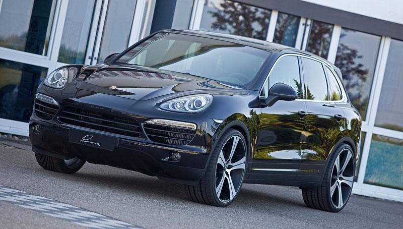 Porsche Cayenne Diesel: decentní SUV od Lumma Design: - fotka 5