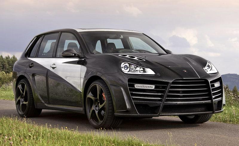 Mansory Chopster: karbonové hrátky s Porsche Cayenne: - fotka 6