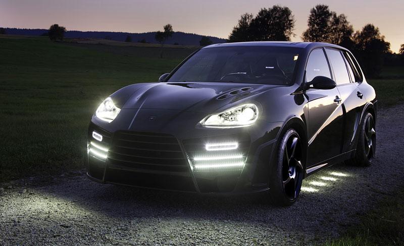 Mansory Chopster: karbonové hrátky s Porsche Cayenne: - fotka 7
