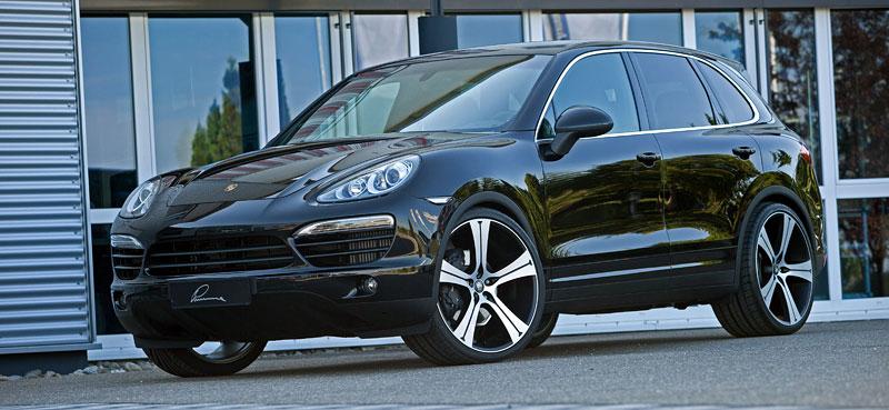 Porsche Cayenne Diesel: decentní SUV od Lumma Design: - fotka 6