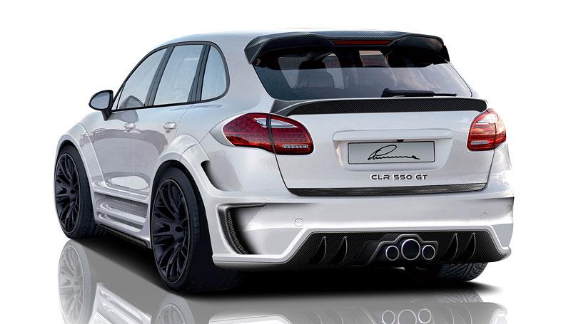 Lumma Design CLR 550 GT: nové šaty pro Porsche Cayenne: - fotka 3