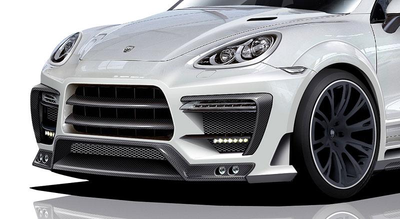Lumma Design CLR 550 GT: nové šaty pro Porsche Cayenne: - fotka 4