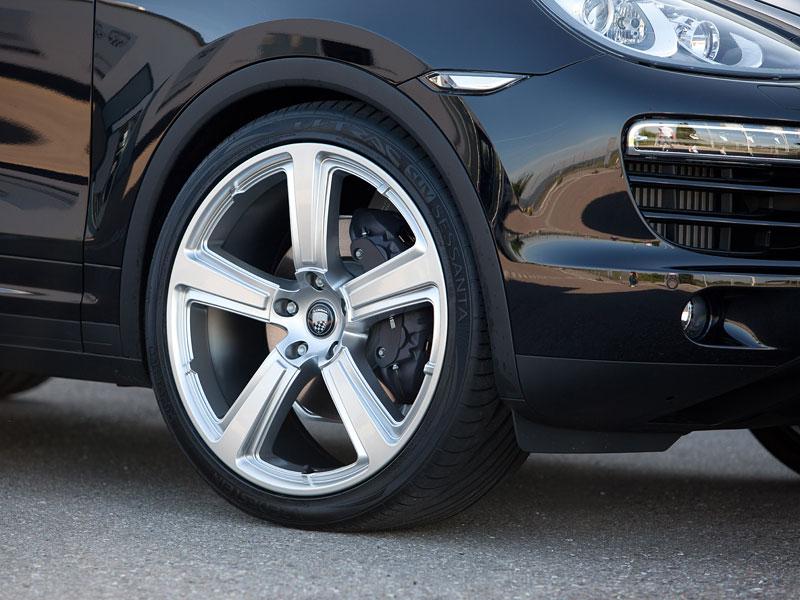 Porsche Cayenne Diesel: decentní SUV od Lumma Design: - fotka 12