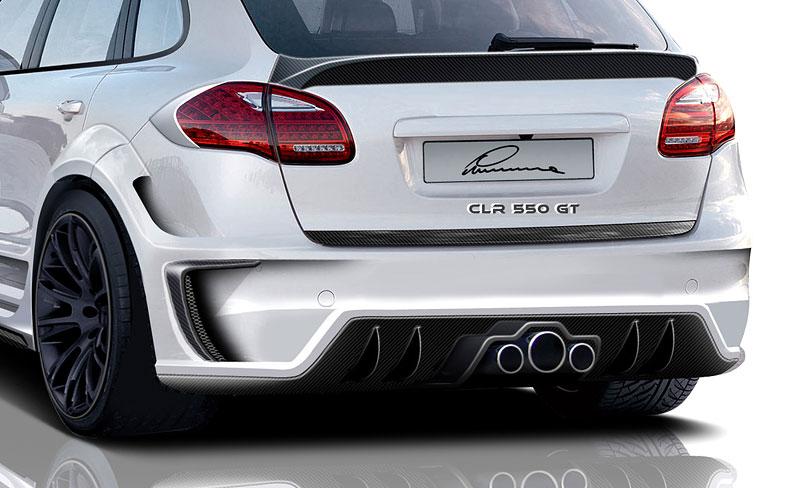 Lumma Design CLR 550 GT: nové šaty pro Porsche Cayenne: - fotka 5