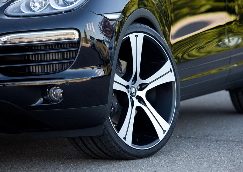 Porsche Cayenne Diesel: decentní SUV od Lumma Design: - fotka 13