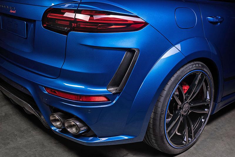 Porsche Cayenne TechArt Magnum Sport má výkon až 700 koní a umí 295 km/h: - fotka 16