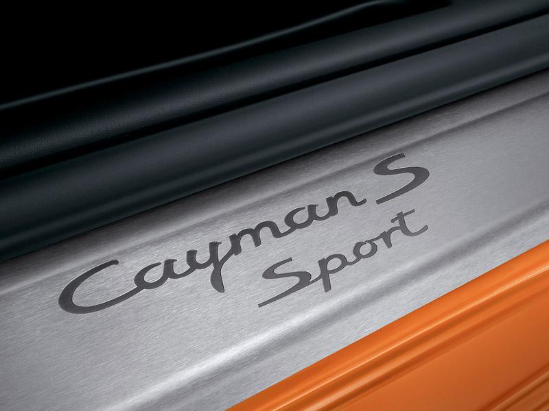 Limitované série pro Porsche Boxster S a Cayman S: - fotka 7