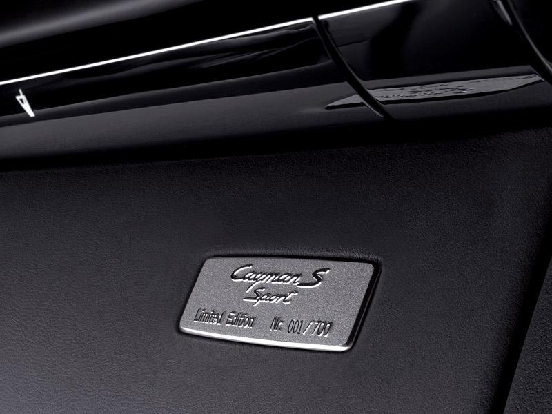 Limitované série pro Porsche Boxster S a Cayman S: - fotka 8
