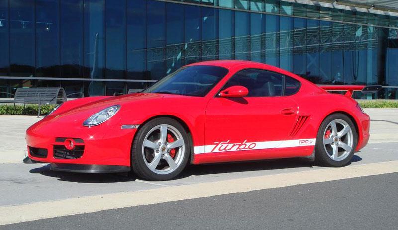 Porsche Cayman S Turbo: přeplňovaní od TPCRacing: - fotka 1