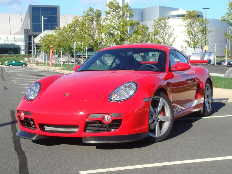 Porsche Cayman S Turbo: přeplňovaní od TPCRacing: - fotka 2