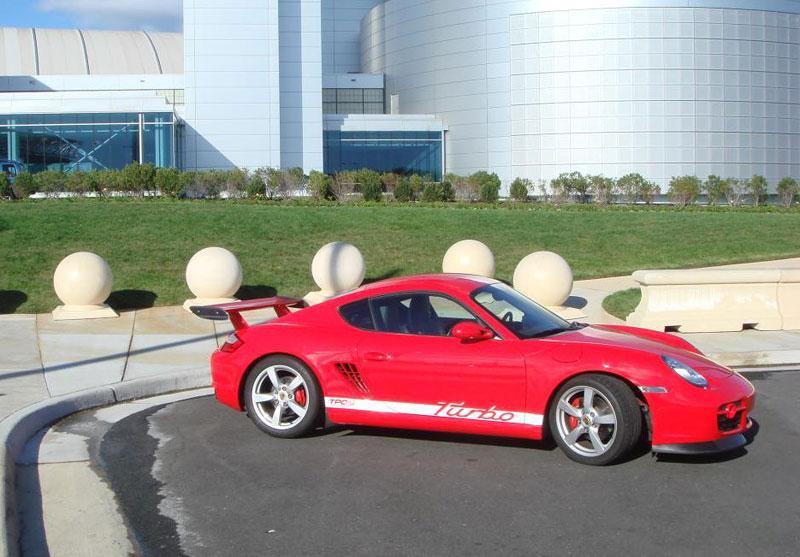 Porsche Cayman S Turbo: přeplňovaní od TPCRacing: - fotka 3