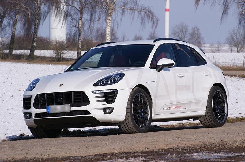 Porsche Macan S Diesel od Kaege: Větší stádo naftových koní z Porýní: - fotka 2