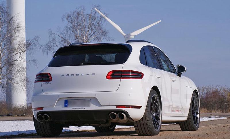Porsche Macan S Diesel od Kaege: Větší stádo naftových koní z Porýní: - fotka 5