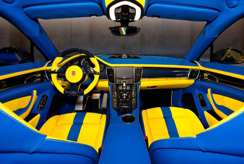 Porsche Panamera Turbo: 690 koní a extrémní barvy od Mansory: - fotka 1