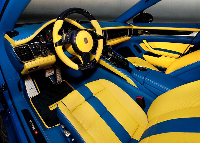 Porsche Panamera Turbo: 690 koní a extrémní barvy od Mansory: - fotka 2