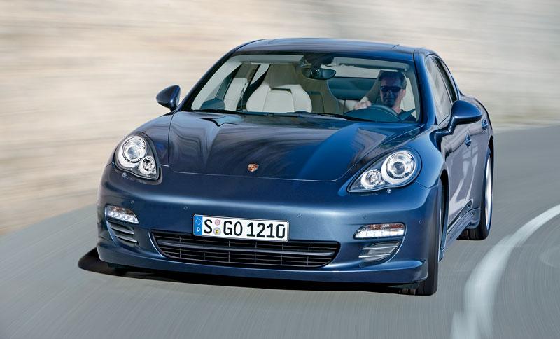 Porsche Panamera má za sebou světovou premiéru: - fotka 12