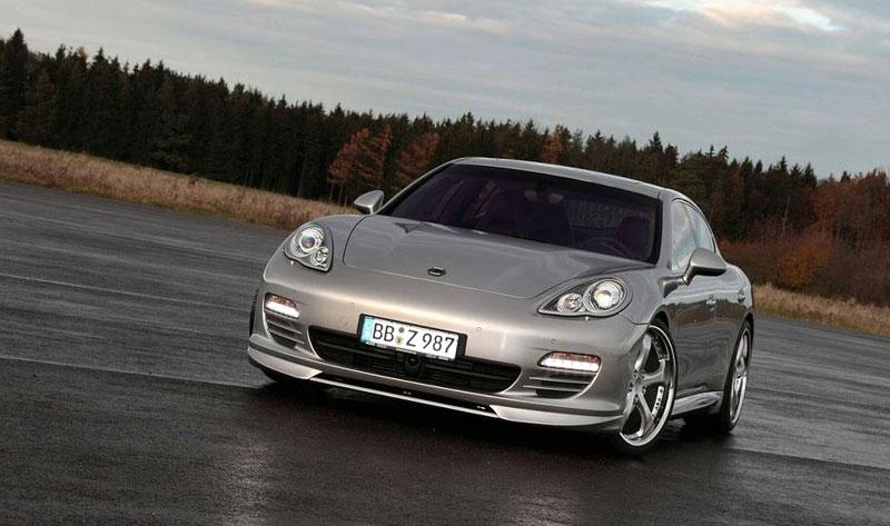 TechArt: sada na zvýšení výkonu pro Porsche Panamera Turbo přidá 80 koní a 60 Nm: - fotka 13