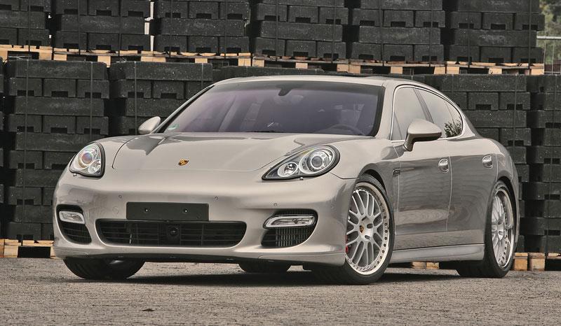 Porsche Panamera Turbo: více síly a nová kola od MCCHIP: - fotka 1