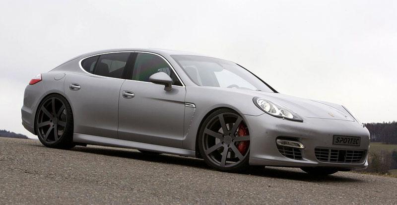 Porsche Panamera Turbo: 60 koní navíc ze Švýcarska: - fotka 1