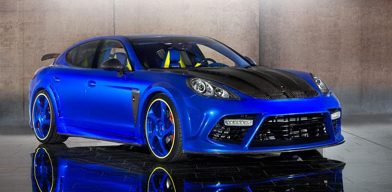 Porsche Panamera Turbo: 690 koní a extrémní barvy od Mansory: - fotka 4