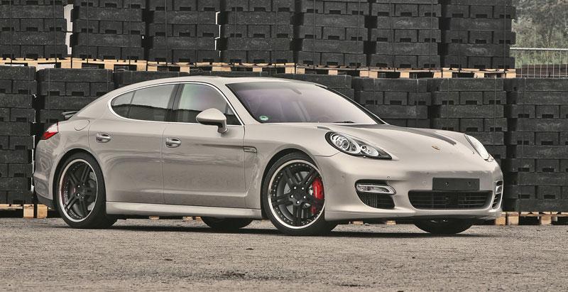 Porsche Panamera Turbo: více síly a nová kola od MCCHIP: - fotka 2