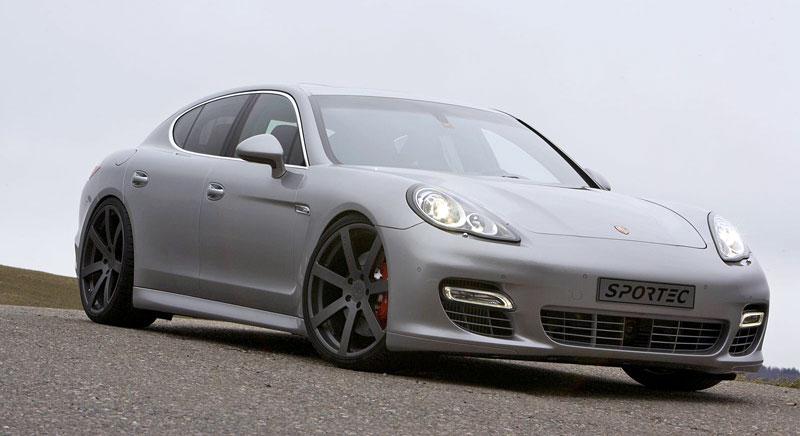 Porsche Panamera Turbo: 60 koní navíc ze Švýcarska: - fotka 2