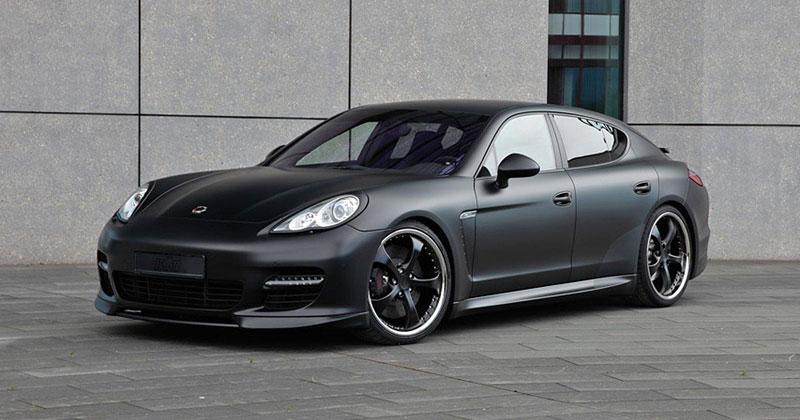 TechArt: sada na zvýšení výkonu pro Porsche Panamera Turbo přidá 80 koní a 60 Nm: - fotka 22